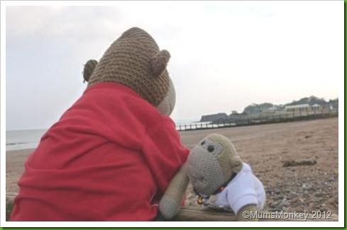 Playing on beach at Dawlish Warren