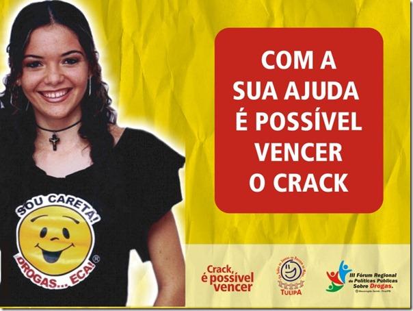 Campnha  Crack - TULIPA - Cabeça