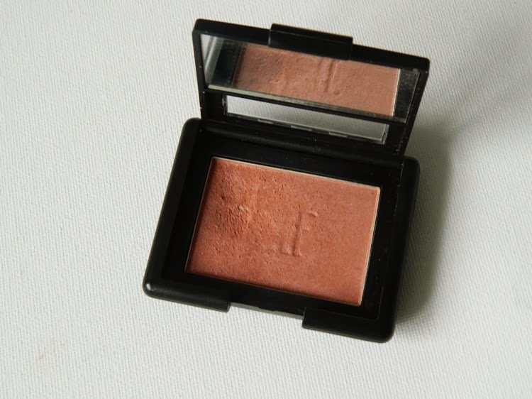 e.l.f studio blush mellow mauve review swatch