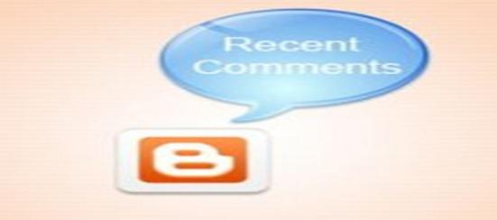 Comentários recentes com avatar