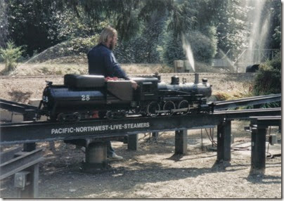 13 Pacific Northwest Live Steamers in 1998
