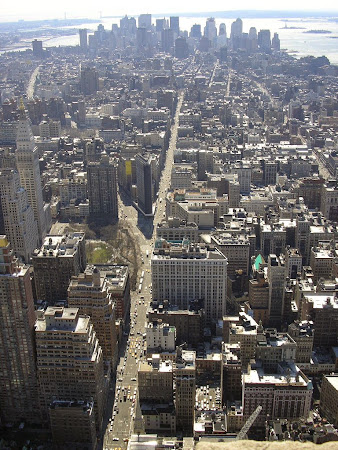 Empire State Building New York: Panorama Manhattan