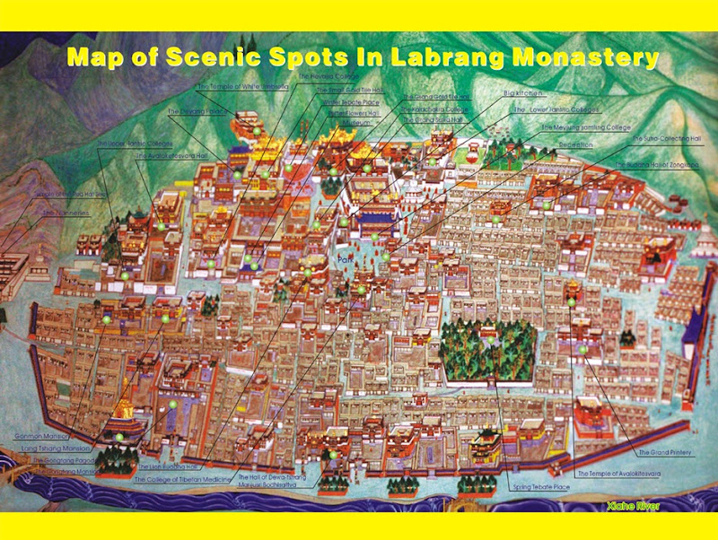 map_of_labrang_Monastery