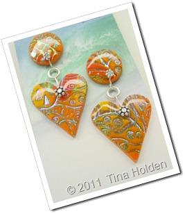 orange pc batik drops