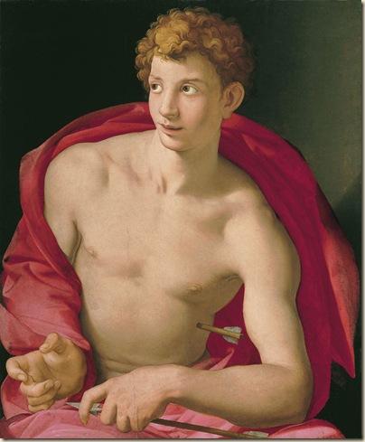 Bronzino, San sébastien