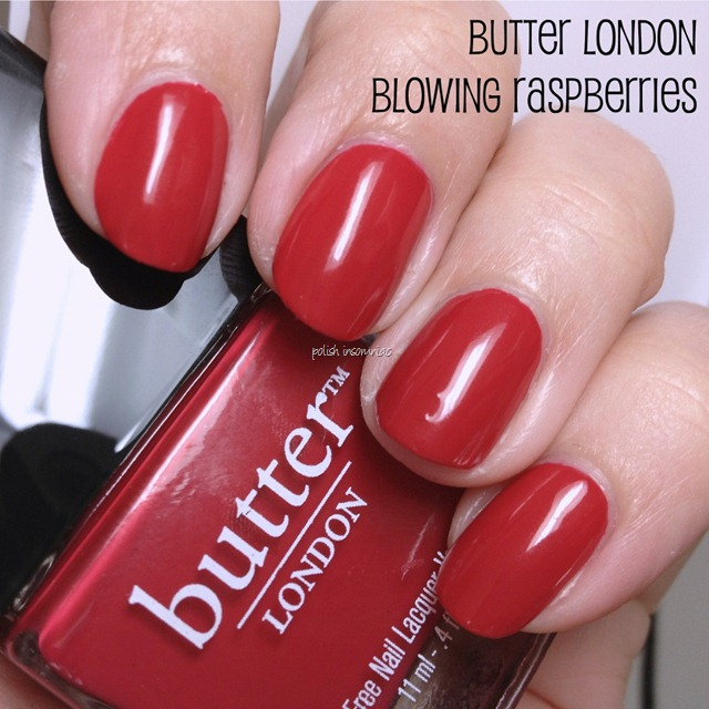 butter LONDON Blowing Raspberries
