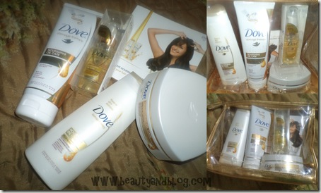 Dove Nourishing Oil Care Range