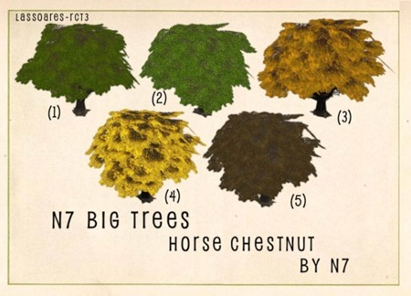 n7 Big Trees - Horse Chestnut Group (n7) lassoares-rct3