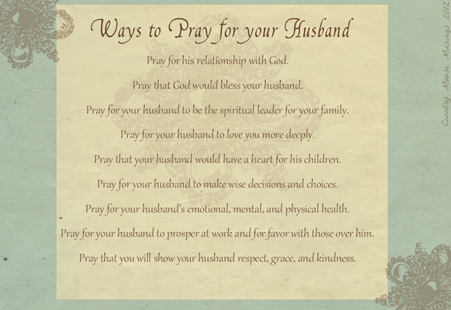 prayforyourhusband