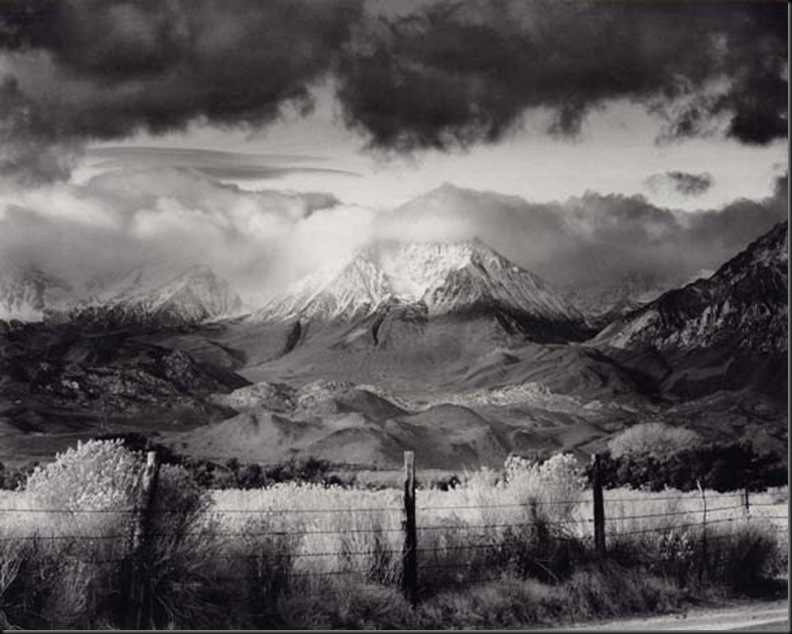 Basin Mountain, Approaching Storm, 1973