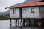 lakesentani stilted houses