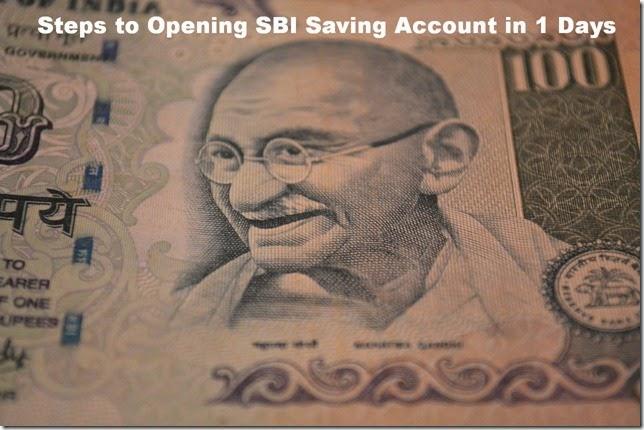 sbi-saving-account-in-1-days