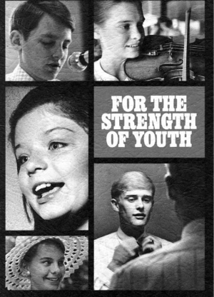 For the Strength of Youth 1972 original cover | History of the Young Women's Organization