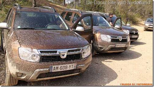 Dacia Duster verkoop 0811