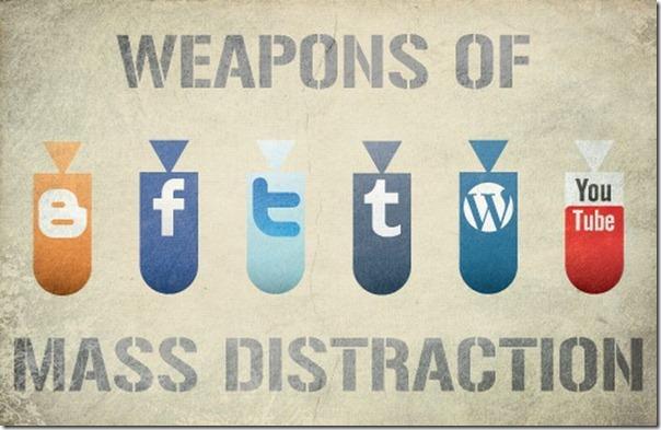 Armas de distração em massa