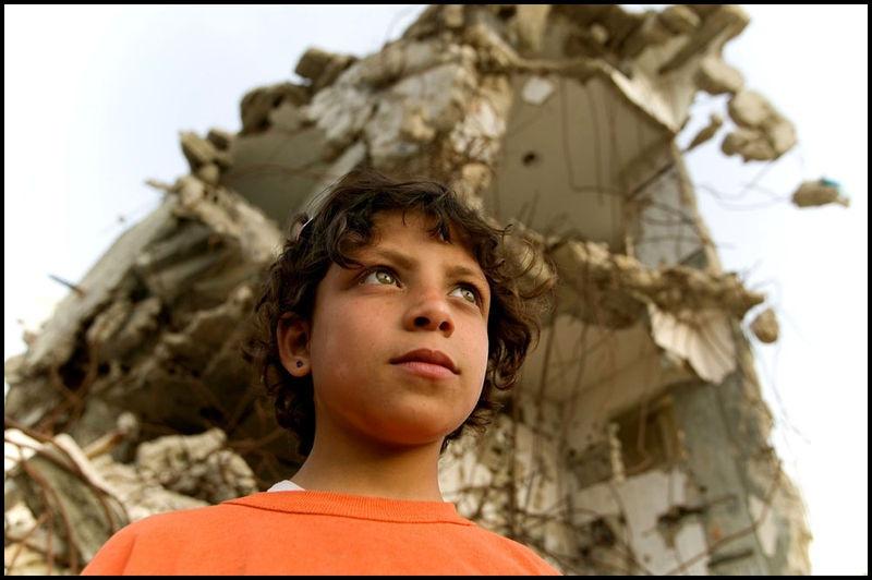 Khan Yunis Refugee settlement destruction Zoriah