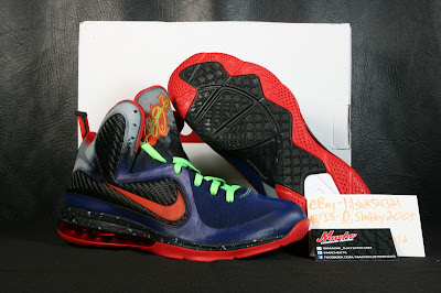 nike lebron 9 xx nerf custom 2 04 Another Chance to Get Your LeBron 9 Nerf Custom Kicks