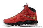 lbj10 fake colorway red black gold 1 01 Fake LeBron X