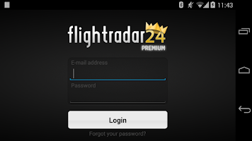 Screenshot of FR24 Premium