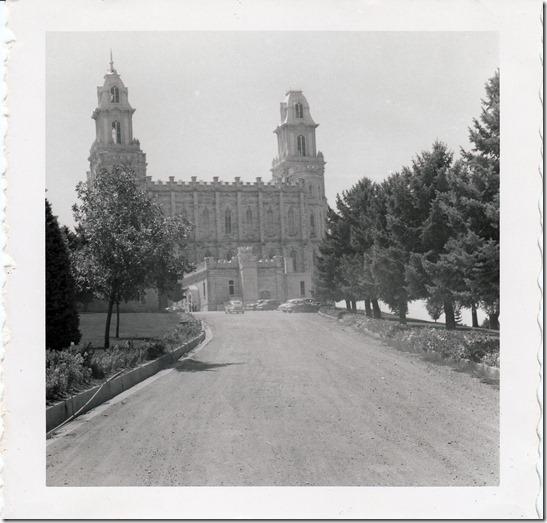 Manti Utah Temple - 1952