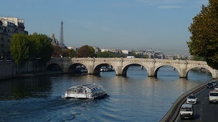 Things to do in Paris: cross a Seine bridge