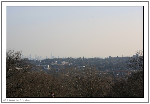 The Shard from Alexandra Palace
