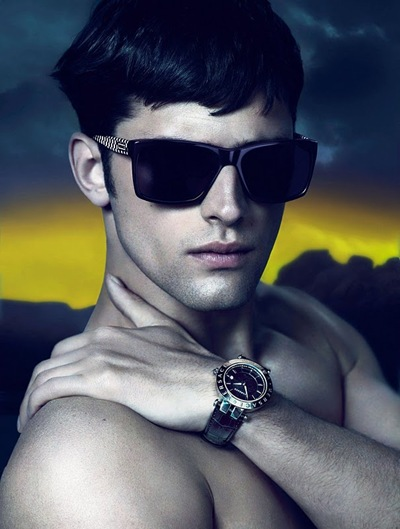 Sean O'Pry by Mert & Marcus for Versace F/W 2011-12