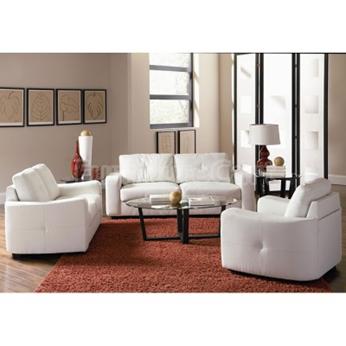 sala minimalista sin colores fuertes