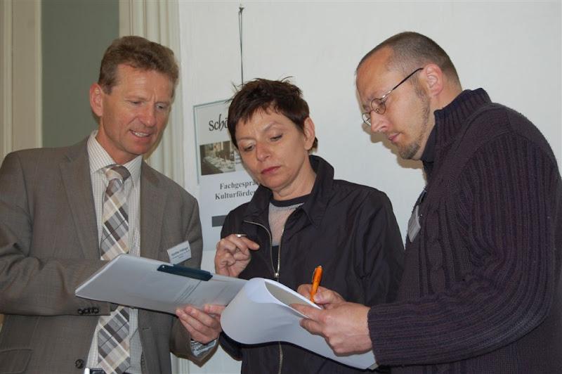 Fachgespräch Kulturförderung im Schloss Zeilitzheim am 14.4.2012
