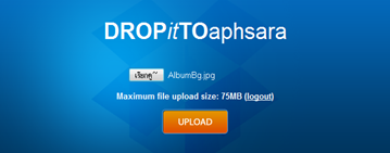 upload files to dropbox