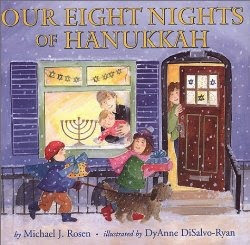 Our eight nights of Hanukkah