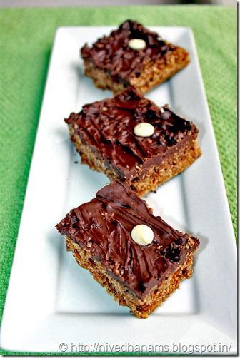 Chocolate Oatmeal Bar - IMG_3462