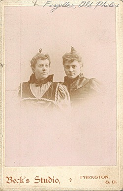 Emma and Friend Soloway Cabinet Card