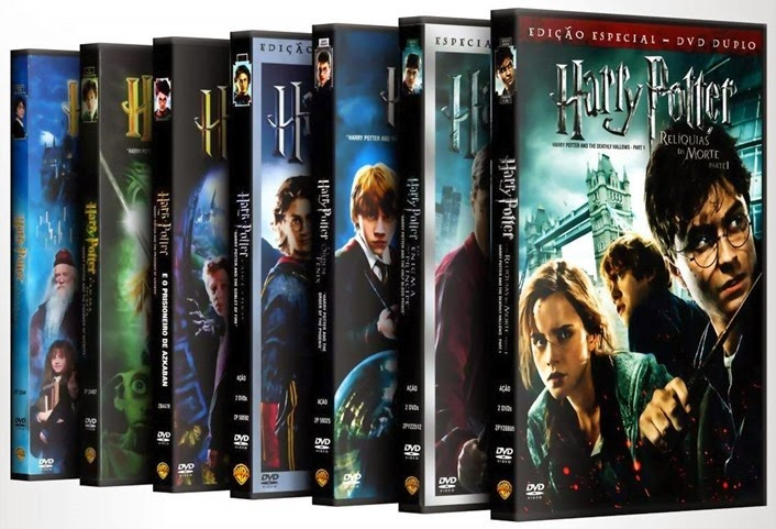 harry potter filmes