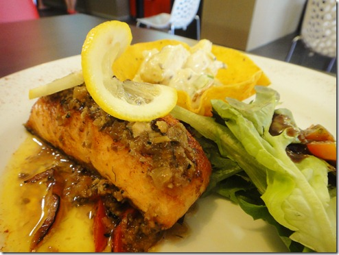 8. Grilled Salmon @ Windsor Dining, Melaka