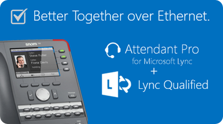 Attendant Pro plus Lync Qualified BTOE