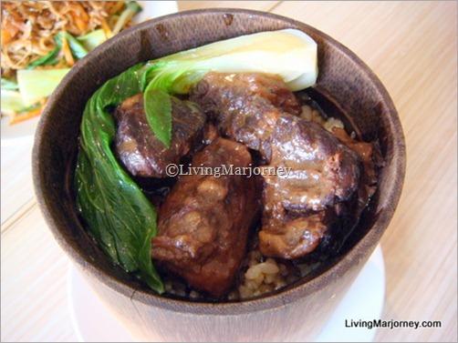 HK Braised Beef Brisket Bamboo Rice
