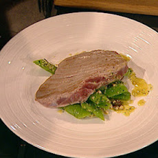 Tuna With Runner Beans, Pine Nuts And Raisins