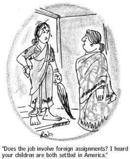 My favorite cartoons by R. K. Laxmani's