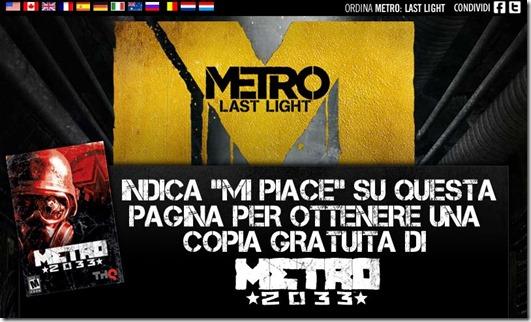 Metro Gratis da THQ