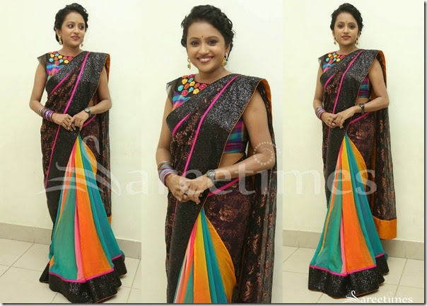 Suma_Multicolor_Saree
