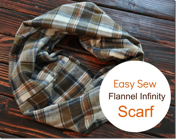 Easy Sew Infinity Scarf