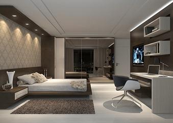 dormitório casa moderna