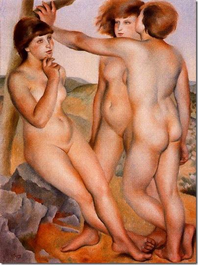 Josep de Togores i Llach -Tres desnudos _1924