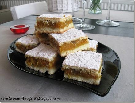 Prăjitură rustică cu dovleac