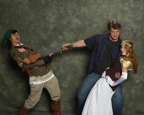 Nathan Fillion Steals Zelda via The Mary Sue