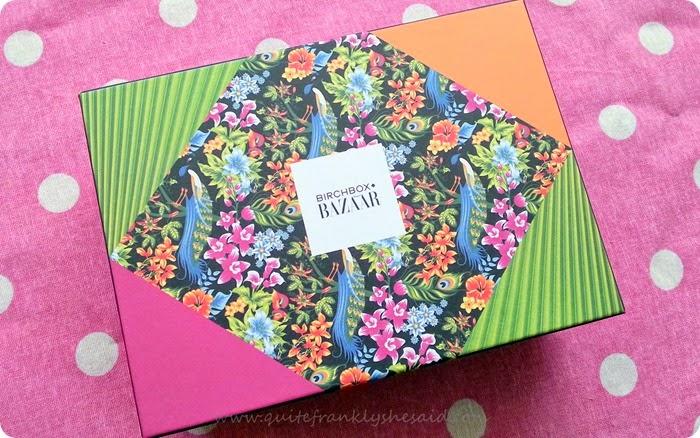 Birchbox Harpers Bazaar