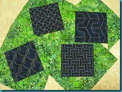 sashiko blocks