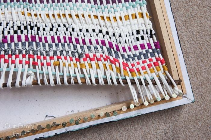 Woven Fabric Scrap Wall Art 28700x466
