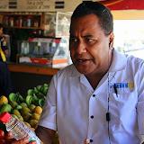Super Guide Solomon Discussing the Health Benefits of Coconut Oil - Port Denarau, Fiji